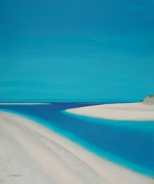 SIMON MASON Paintings | Oil Painting - Hayle Esturary by artist SIMON MASON | ArtZolo.com