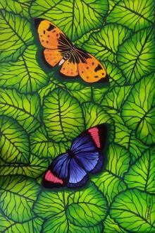 Nature Mixed-media Art Painting title 'Gift Of Nature 6' by artist Sreya Gupta