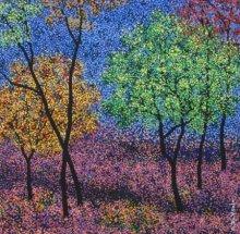 Sanjay Devsale | Acrylic Painting title Landscape 8 on Canvas | Artist Sanjay Devsale Gallery | ArtZolo.com