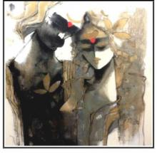 Sachin Jaltare | Acrylic Painting title Untitled on Canvas | Artist Sachin Jaltare Gallery | ArtZolo.com