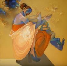 Renaissance Gallerie | Acrylic Painting title Untitled on Canvas | Artist Renaissance Gallerie Gallery | ArtZolo.com