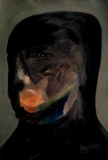 Figurative Acrylic Art Painting title Creative Art Works 11 by artist GIRISH CHANDRA VIDYARATNA