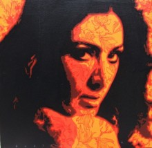 The Lady 1 | Painting by artist Sujit Karmakar | acrylic | Canvas