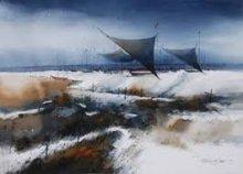 Landscape Acrylic Art Painting title Index by artist Parag Adhikari