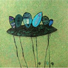 Sandeep Ghule | Untitled 3 Mixed media by artist Sandeep Ghule on Paper | ArtZolo.com