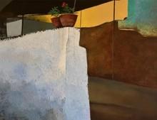 Landscape Acrylic Art Painting title Childhood Memories 5 by artist Sandeep Ghule