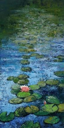 art, painting, acrylic, canvas, nature