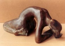 Bronze Sculpture titled 'Lasya' by artist Sunita Lamba
