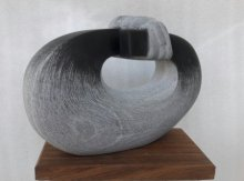 Relationship | Sculpture by artist Nema Ram | Black Marble