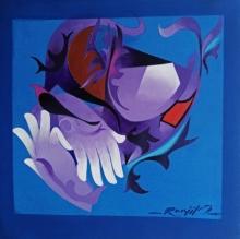 contemporary Acrylic Art Painting title Inspiration 11 by artist Ranjit Singh Kurmi