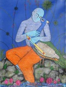 Someshwar Patil | Acrylic Painting title Love on Canvas | Artist Someshwar Patil Gallery | ArtZolo.com