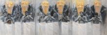 Panchari Melam | Painting by artist Pankaj Bawdekar | acrylic | Canvas