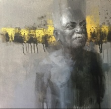 Portrait 1 | Painting by artist Pankaj Bawdekar | acrylic | Canvas