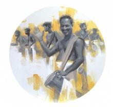 Timila 1 | Painting by artist Pankaj Bawdekar | acrylic | Canvas