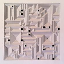Ravi Shankar | Untitled 16 Mixed media by artist Ravi Shankar on Paper | ArtZolo.com