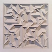 Untitled 17 | Mixed_media by artist Ravi Shankar | Paper