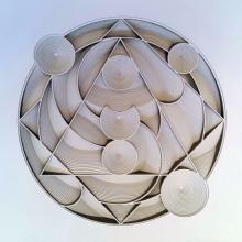 Ravi Shankar | Untitled 22 Mixed media by artist Ravi Shankar on Paper | ArtZolo.com