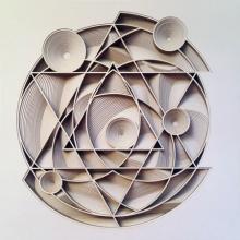 Ravi Shankar | Untitled 23 Mixed media by artist Ravi Shankar on Paper | ArtZolo.com