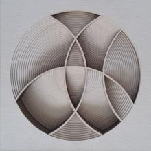 Ravi Shankar | Untitled 4 Mixed media by artist Ravi Shankar on Paper | ArtZolo.com