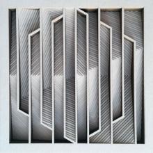 Ravi Shankar | Untitled 5 Mixed media by artist Ravi Shankar on Paper | ArtZolo.com