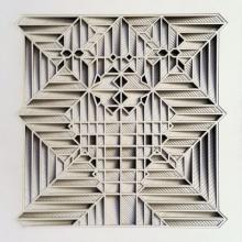 Ravi Shankar | Untitled 9 Mixed media by artist Ravi Shankar on Paper | ArtZolo.com