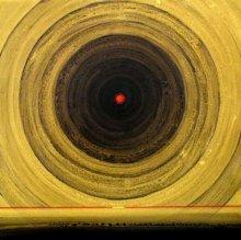 Abstract Acrylic Art Painting title 'Meditation 3' by artist Nilesh Nikam