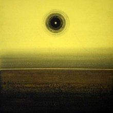 Abstract Acrylic Art Painting title 'Meditation' by artist Nilesh Nikam