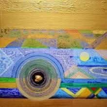 Nilesh Nikam | Acrylic Painting title Meditation 58 on Canvas
