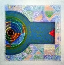 Nilesh Nikam | Acrylic Painting title Meditation 87 on Canvas