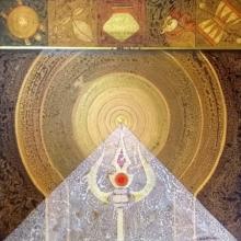 Abstract Acrylic Art Painting title 'Meditation 96' by artist Nilesh Nikam