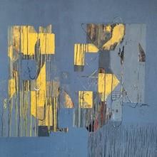 Abstract Acrylic Art Painting title Untitled 29 by artist Vivek Nimbolkar