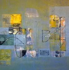 Abstract Acrylic Art Painting title Untitled 30 by artist Vivek Nimbolkar