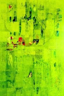 Abstract Acrylic Art Painting title Untitled 47 by artist Vivek Nimbolkar