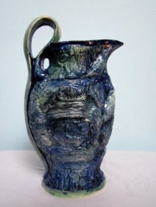 Fish Life Pot | Ceramic by artist DULAL CHANDRA MANNA | Ceramic