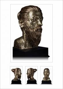 Brass Sculpture titled 'Untitled 4' by artist Prabhakar Singh