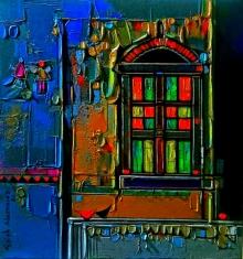 art, painting, acrylic, canvas, still life