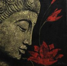 Figurative Acrylic Art Painting title '3' by artist Sulakshana Dharmadhikari