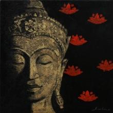 Figurative Acrylic Art Painting title '4' by artist Sulakshana Dharmadhikari