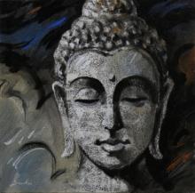 Figurative Acrylic Art Painting title 5 by artist Sulakshana Dharmadhikari