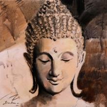 Figurative Acrylic Art Painting title 7 by artist Sulakshana Dharmadhikari