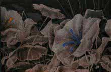 Sulakshana Dharmadhikari Paintings | Acrylic Painting - Blossom 3 by artist Sulakshana Dharmadhikari | ArtZolo.com