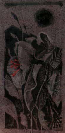 Sulakshana Dharmadhikari Paintings | Acrylic Painting - Blossom 4 by artist Sulakshana Dharmadhikari | ArtZolo.com