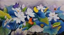 lotus #colorful#butterflies
