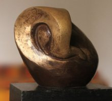 Shree Ganesha 1 - B | Sculpture by artist MAHESH ANJARLEKAR | Bronze