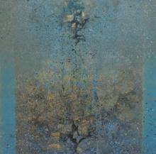 Abstract Acrylic Art Painting title Untitled 3 by artist Shivaji Chavan