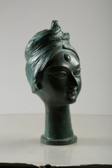 Graceful | Sculpture by artist Tapas Sarkar | Bronze