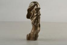 Bronze Sculpture titled 'Rabindranath' by artist Tapas Sarkar