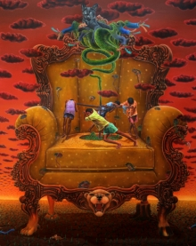 Sanjay Rajpoot | Oil Painting title Manthan 3 on Canvas | Artist Sanjay Rajpoot Gallery | ArtZolo.com