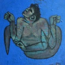 Aditya Pandit | Acrylic Painting title Birth Of Dream on Canvas | Artist Aditya Pandit Gallery | ArtZolo.com