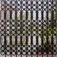 realistic painting, gate,door, close,
